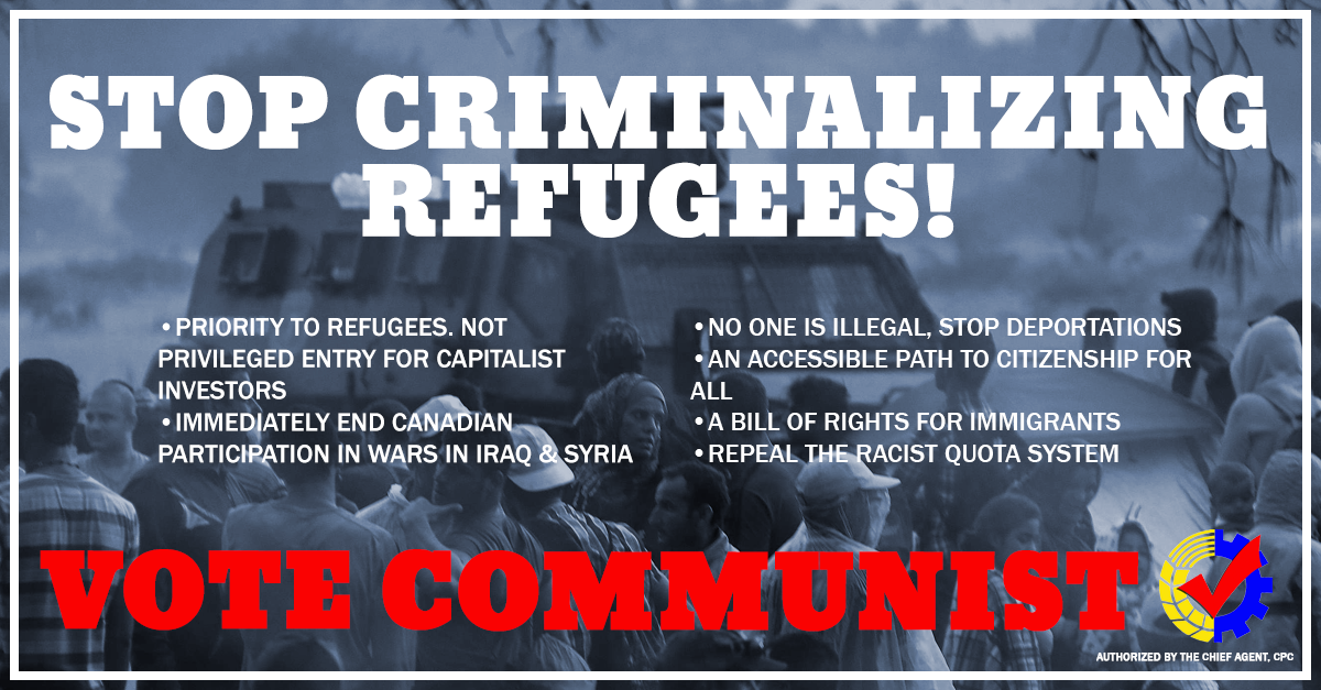 stop criminalizing refugees