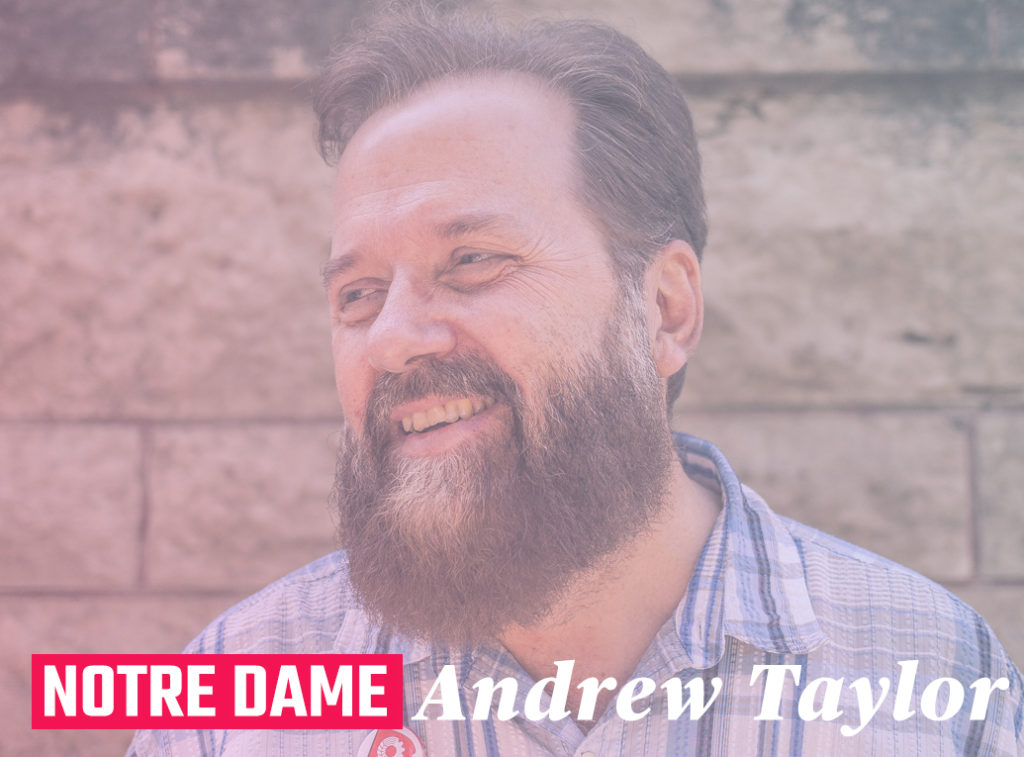 Andrew Taylor - Notre Dame riding